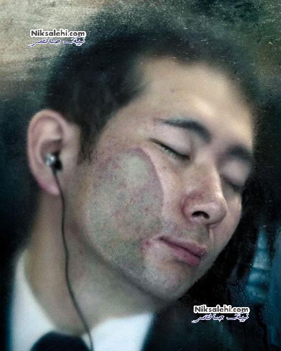 تصاویر هنری جالب از جمعیت مترو ژاپن + عکس