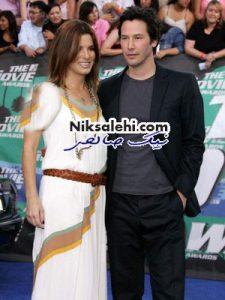 رابطه عاشقانه جدید خانم بازیگر متین و با وقاربا یک هنرپیشه معروف هالیوود!؟!+ عکس