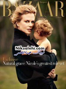چرا نیکول کیدمن از منتشر کردن تصویر فرزند جدیدش خودداری می کند؟!+ عکس فرزندش