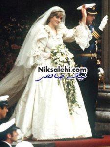 لباس عروسی پرنسس دیانا در یک نمایشگاه به نمایش گذاشته خواهد شد + عکس