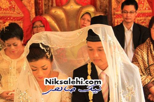 اتفاق عجیب در یک عروسی + عکس