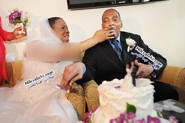 عروسی عجیب و متأثر کننده زوج ۵۰ ساله +عکس