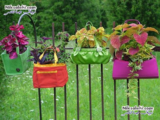 تبدیل وسایل قدیمی به گلدان های بسیار زیبای بهاری +عکس