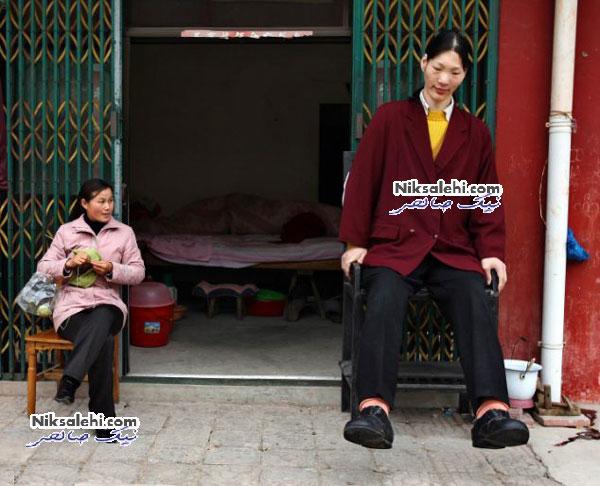 زندگی کوتاه بلندترین زن دنیا + عکس