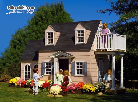 این خانه های چندهزار دلاری فقط ویژه کودکان است! +عکس