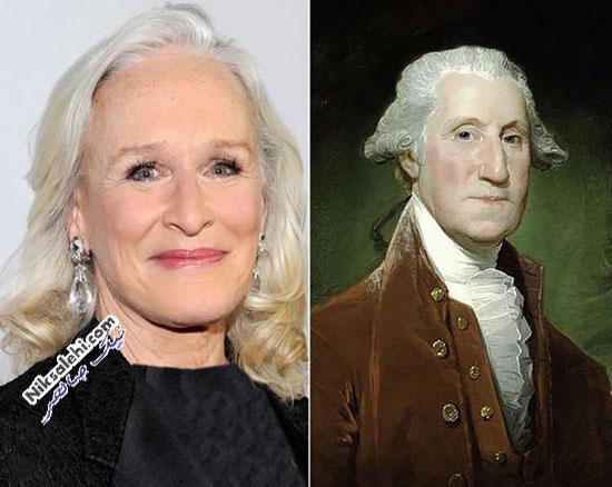 افراد مشهوری با شباهت ترسناک به برخی از انسان های تاریخ! +عکس(۱)