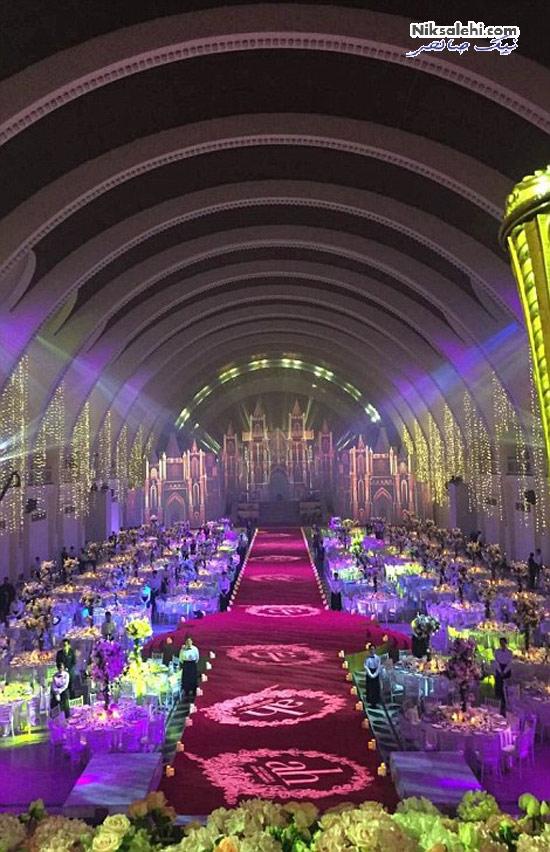 عروسی بسیار پرتجمل کیم کارداشیان چینی! +عکس
