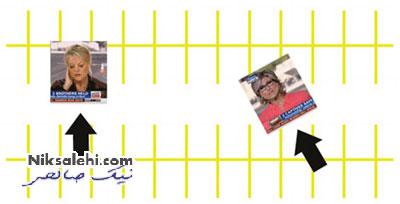 سوتی بزرگ یک شبکه خبرگزاری مشهور+عکس