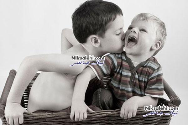 پسربچه ای که از خندیدن باز نمی ایستد + عکس