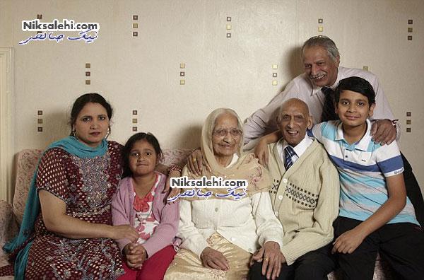 راز طولانی بودن زندگی مشترک زوج هندی +عکس