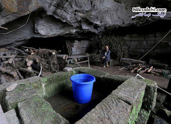 زوجی که پس از عدم توانایی خرید خانه غارنشین شدند! +عکس
