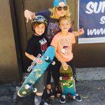 بریتنی اسپیرز و پسرانش در شکلات سازی +عکس