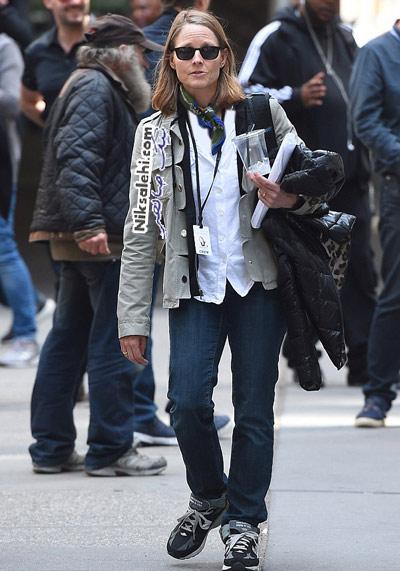 جورج کلونی و همسرش سرصحنه فیلم برداری فیلم جدیدش! +عکس
