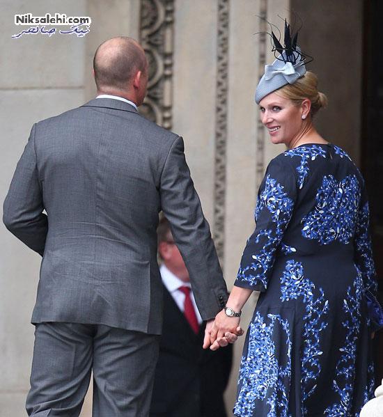 تیپ زیبای کیت میدلتون در جشن تولد رسمی ملکه در کلیسای جامع +عکس