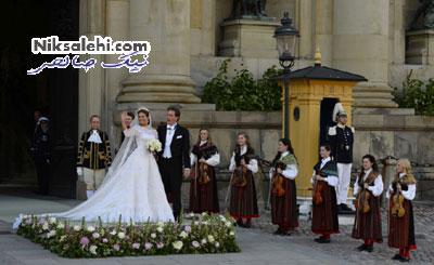 عروسی باشکوه یک شاهزاده خانم دلشکسته +عکس
