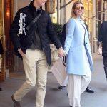 ایوانکا ترامپ و شوهرش هنگام ترک آپارتمانشان +عکس