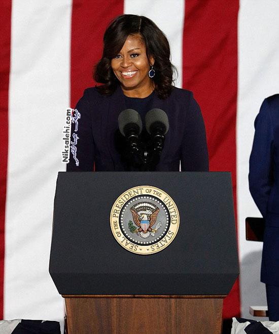 میشل اوباما در جلد مجله مشهور
