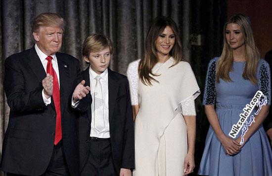 تیپ همسر دونالد ترامپ