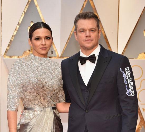 زوج های مشهور اسکار 2017