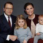 ولیعهد سوئد و جشن تولد یک سالگی پسرش در کاخ +عکس