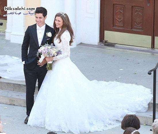 سلنا گومز در مراسم عروسی