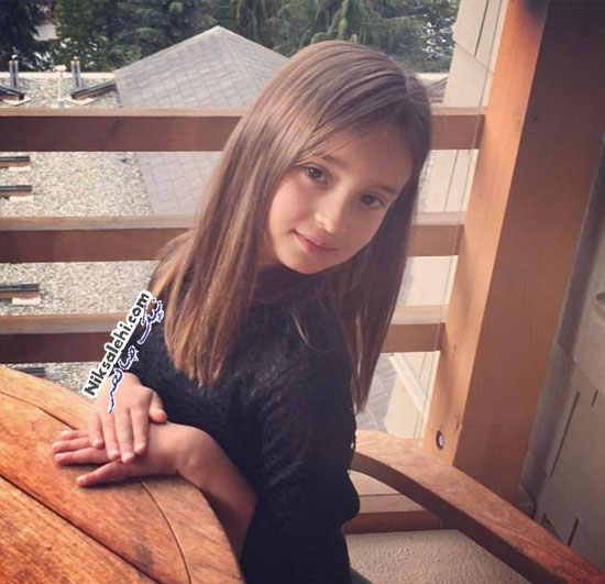ژست زیبای دختر ایوانکا ترامپ