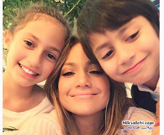 ستاره های مشهور هالیوودی در روز مادر سال ۲۰۱۷ +عکس