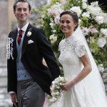 تیپ کیت میدلتون و فرزندانش در عروسی خواهرش پیپا میدلتون