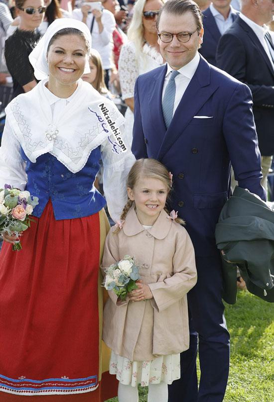 تولد چهل سالگی ولیعهد سوئد