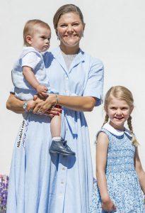 جشن تولد چهل سالگی ولیعهد سوئد پرنسس ویکتوریا با همراهی خانواده اش
