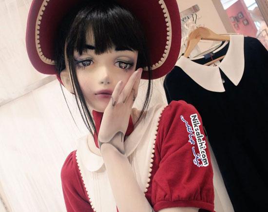 عروسک زنده ژاپنی