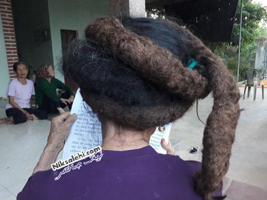موهای عجیب زن ویتنامی