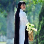 موهای عجیب و غیرمعمول زن 81 ساله ای اهل ویتنام!