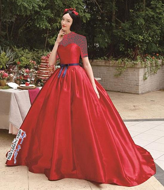 لباس عروس پرنسس های دیزنی