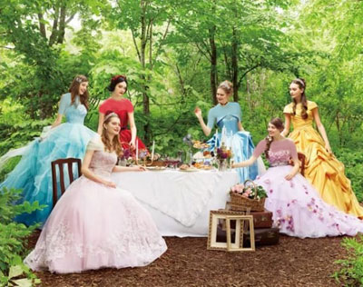 کالکشن لباس عروس به شکل شخصیت پرنسس های دیزنی!