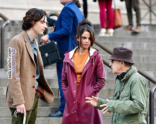 سلنا گومز در فیلم وودی آلن
