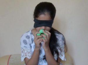دختر یازده ساله ای که با بوییدن رنگ ها را تشخیص می دهد!