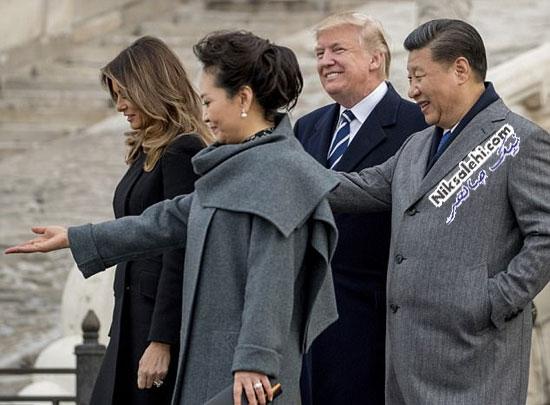 ملانیا ترامپ در چین
