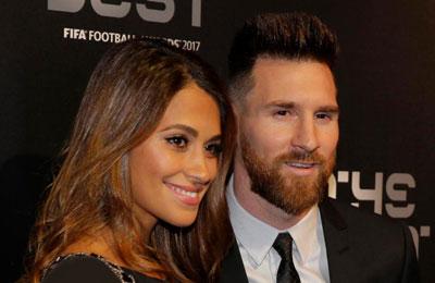 رمزگشایی از جنسیت فرزند سوم فوتبالیست معروف لیونل مسی