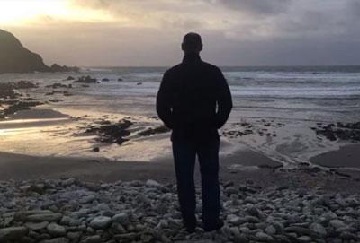 ساحل شنی عجیب در ایرلند
