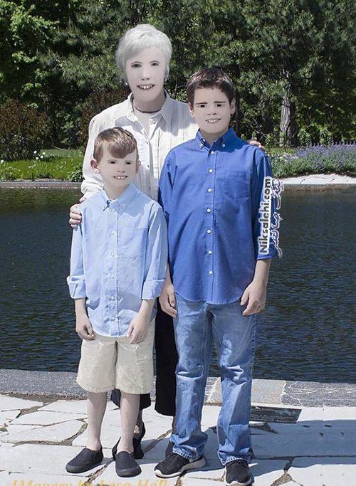 عکس خانوادگی خنده دار