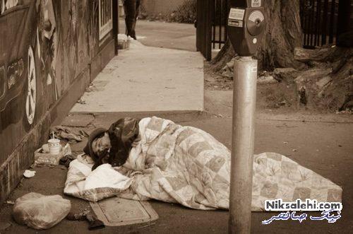 کمک به افراد بی خانمان