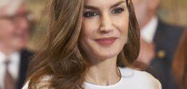 تیپ ملکه لتیزیا اسپانیا برای حضور در یک جلسه خیریه در مادرید