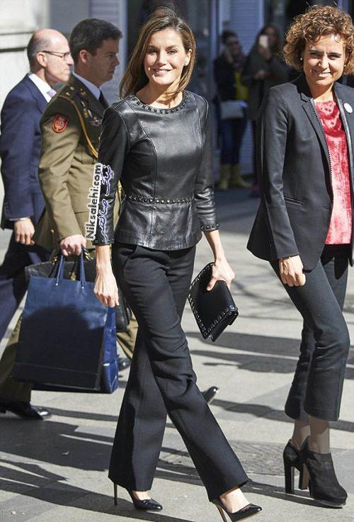 لتیزیا ملکه اسپانیا