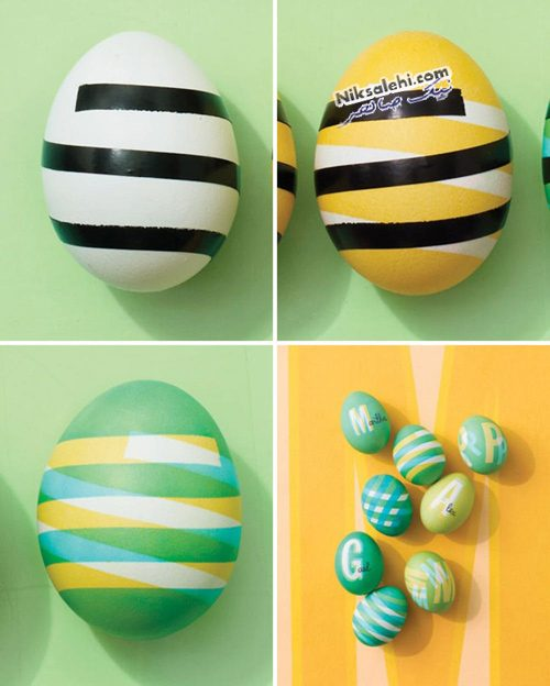 رنگ آمیزی تخم مرغ