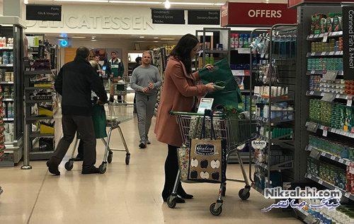 کیت میدلتون در سوپرمارکت
