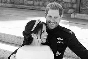 عکس های رسمی عروسی مگان مارکل و شاهزاده هری