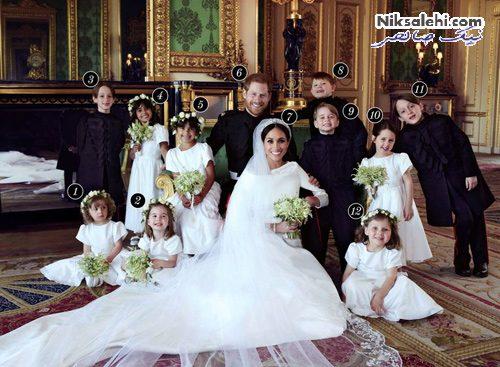 عکس عروسی مگان مارکل