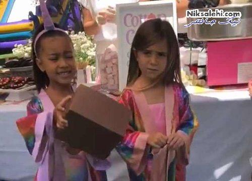 جشن تولد دختر کیم کارداشیان