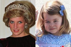 شباهت دیدنی دختر کیت میدلتون به مادربزرگش پرنسس دیانا